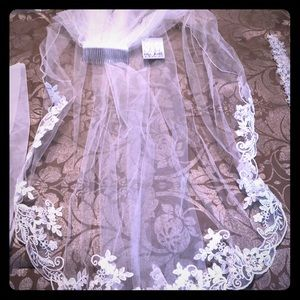 Other - NWT Bridal Veil purchased at Camille's in NC